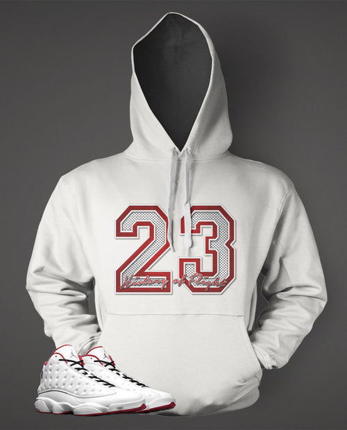 Graphic Pull Over to Match Retro Air Jordan 13 History Of Flight Shoe