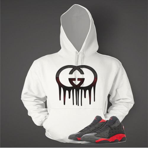 Graphic Pull Over to Match Retro Air Jordan 13 Bred Shoe
