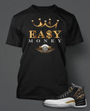 T-Shirt To Match Retro Air Jordan 12 Wings Shoe