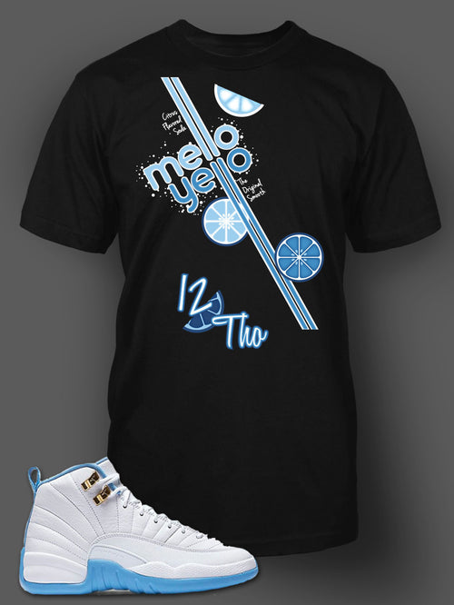 Womens T Shirt To Match Retro Air Jordan 12 Melo Shoe - Just Sneaker Tees - 2