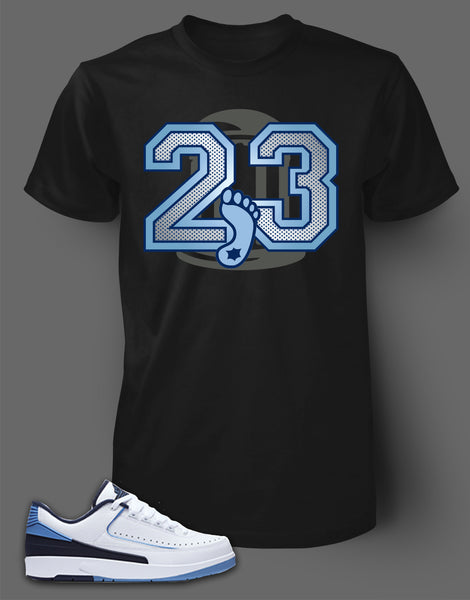 T Shirt To Match Retro Air Jordan 2 Low Shoe - Just Sneaker Tees - 1