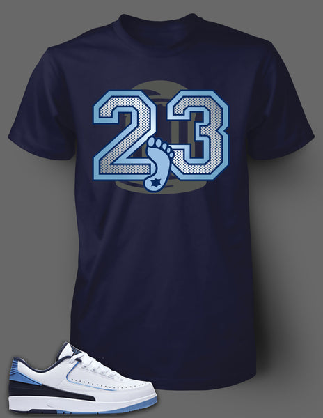 T Shirt To Match Retro Air Jordan 2 Low Shoe - Just Sneaker Tees - 2