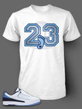 T Shirt To Match Retro Air Jordan 2 Low Shoe - Just Sneaker Tees - 3