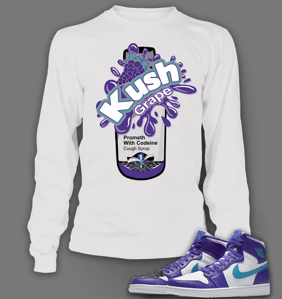 Long Sleeve T shirt To Match Air Jordan 1 High Feng Shui - Just Sneaker Tees - 2