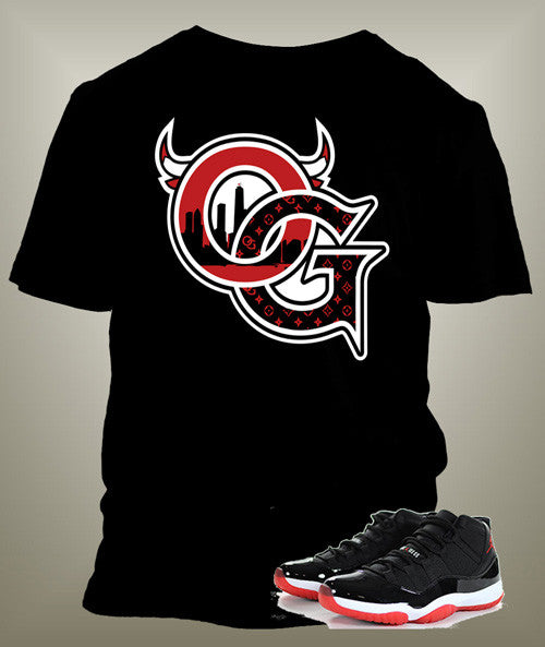 T-shirt To match Jordan 11 Bred Low OG  Jordan Tee