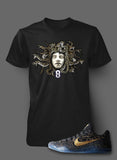 T Shirt To Match Kobe 11 Mamba Day Shoe - Just Sneaker Tees - 2