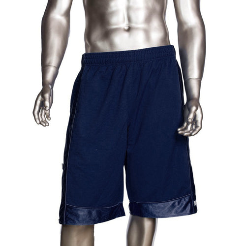 Mens Pro Club Mesh Jersey Basketball Shorts Small to 7XL Navy - Just Sneaker Tees - 1