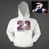 Hoodie to match Air Jordan 7 Nothing But Net Long Sleeve White Hooded Top