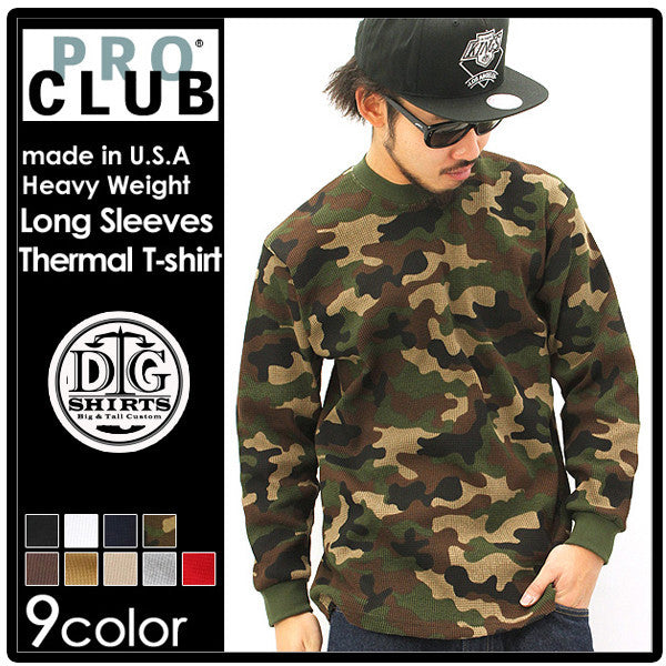 Pro Club LONG SLEEVE THERMAL HEAVY WEIGHT - Just Sneaker Tees