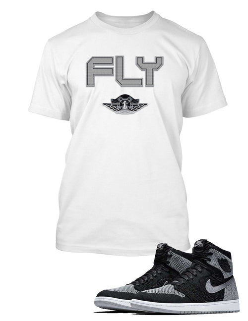 Fly One T Shirt to Match Retro Air Jordan 1 Shoe