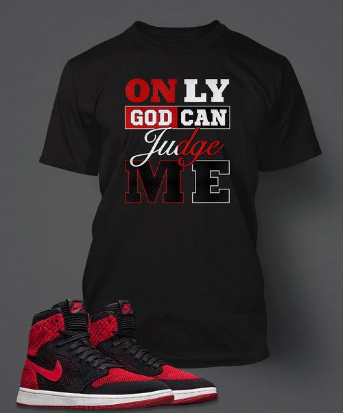 Graphic 2 Pac T Shirt To Match Retro Air Jordan 1 Flynit Shoe