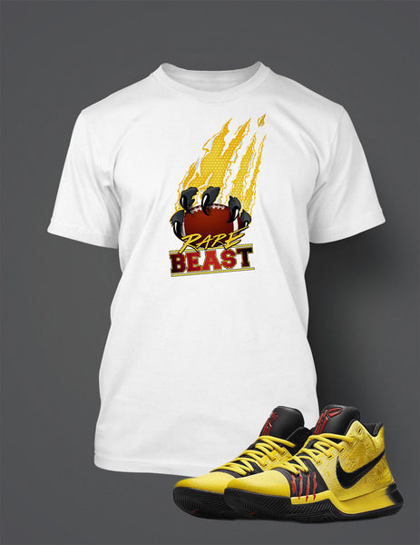 Rare Beast T Shirt to Match Kyrie 3 Bruce Lee Shoe