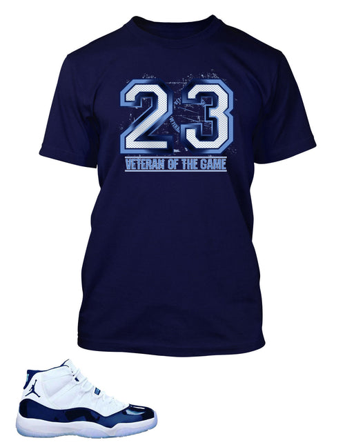 New Veterans Of The Game T Shirt to Match Retro Air Jordan 11 Shoe