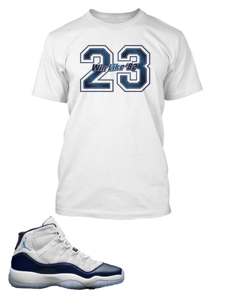 23 T Shirt to Match Retro Air Jordan 11 Win Like 82 Shoe
