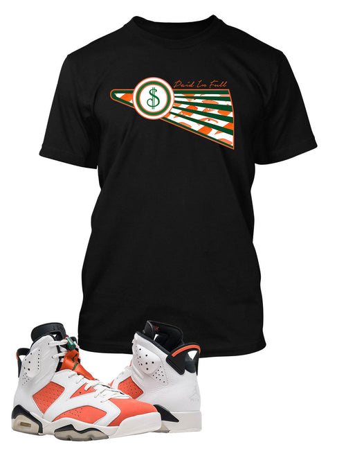 Paid In Full T Shirt to Match Retro Air Jordan 6 Gatorade Shoe