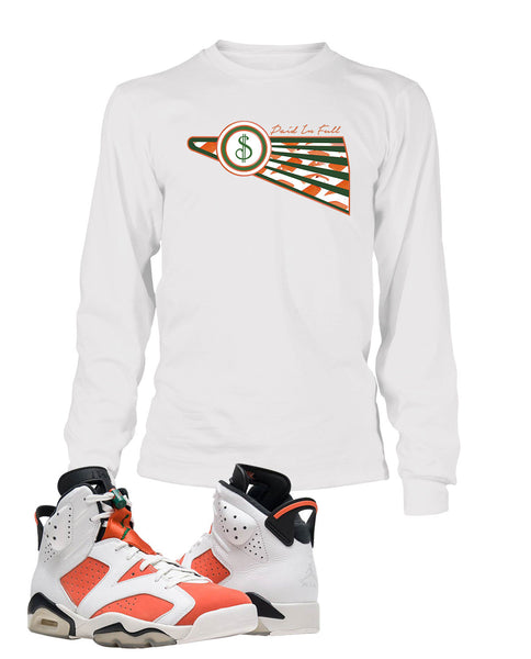 Paid in Full Graphic T Shirt to Match Retro Air Jordan 6 Gatorade Shoe