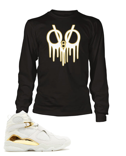 Drake Tribute Graphic T Shirt to Match Retro Air Jordan 8 OVO Shoe