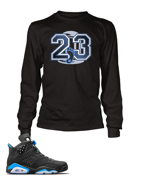 1e323f76d96f UNC Graphic T Shirt to Match Retro Air Jordan 6 Shoe – Vegas Big and Tall
