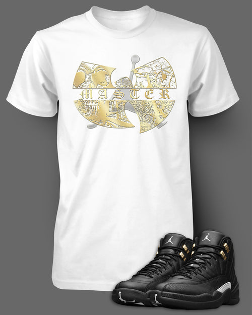 Custom T Shirt To Match Air Jordan 12 Wu Tang Shoe - Just Sneaker Tees - 2