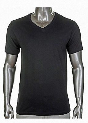 Pro Club Comfort Short Sleeve  V-Neck T-Shirt Black