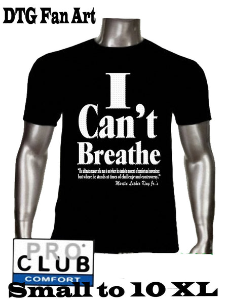 I Can't Breathe T Shirt Custom