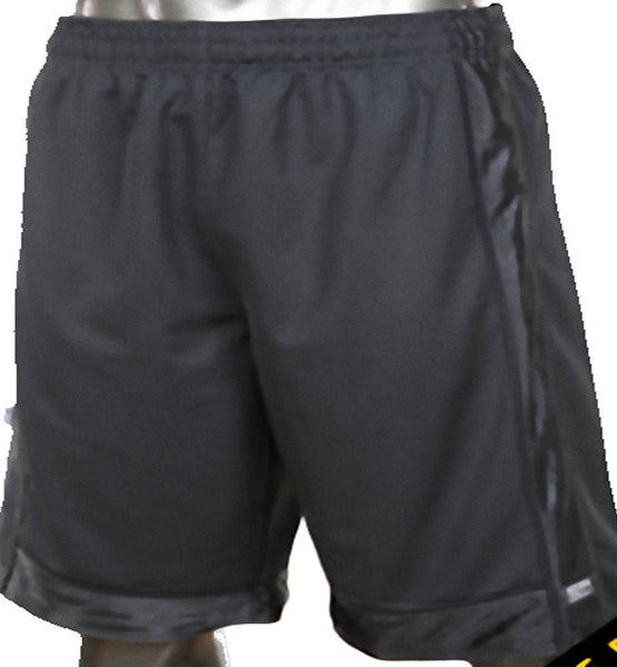 Mens Pro Club Mesh Jersey Basketball Shorts Small to 7XL Charcoal - Just Sneaker Tees - 1
