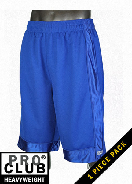 Pro Club MEN'S HEAVYWEIGHT MESH SHORT Royal Blue