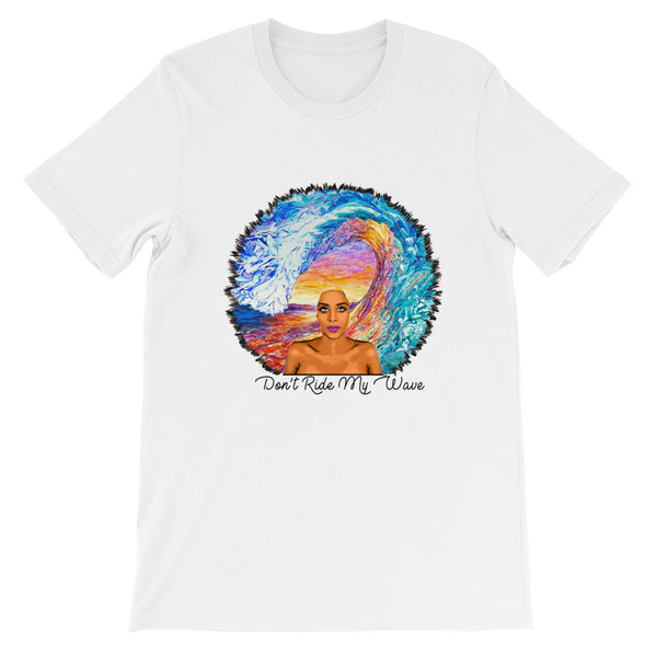 Don't Ride My Wave Womens Graphic Tee