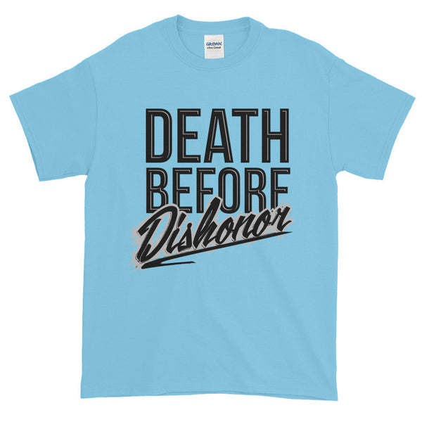 Death Before Dishonor Short Sleeve Graphic T-Shirt