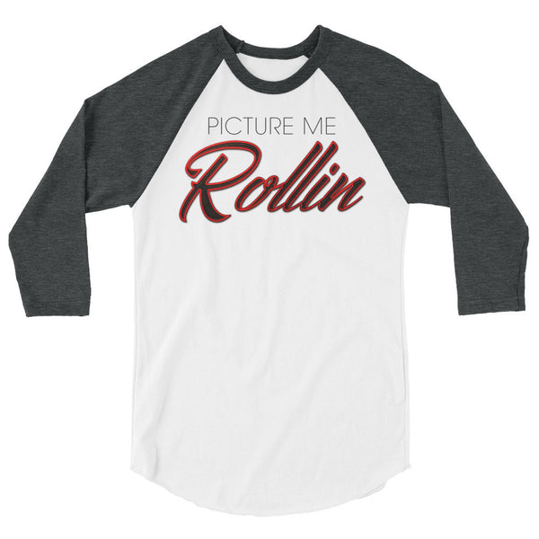 Picture Me Rolling Graphic Baseball T shirt To match Air Jordan 13 History of Flight shoe