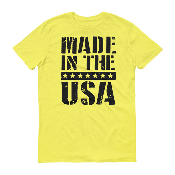 Made in USA Men's Short sleeve t-shirt
