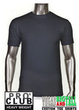 PRO CLUB Short Sleeve  HEAVYWEIGHT Premium T Shirt Charcoal