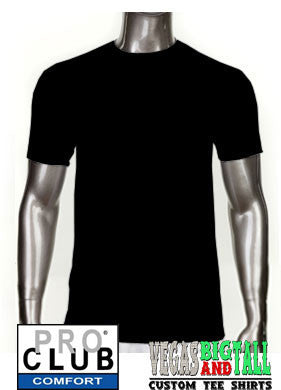 Pro Club Comfort Short Sleeve Black T-Shirt