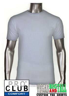 Pro Club Comfort Short Sleeve Heather Gray T-Shirt