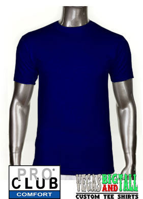 Pro Club Comfort Short Sleeve Navy Blue T-Shirt