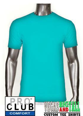 Pro Club Comfort Short Sleeve Turquoise T-Shirt