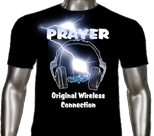 Prayer Original Wireless Graphic Tees