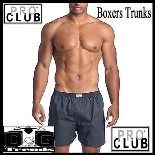 Mens BOXER Trunks  (COLOR MIX PACK) 2 per Pack - Just Sneaker Tees