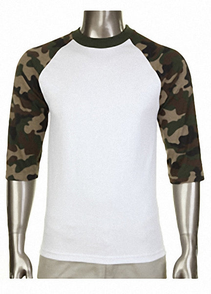 Pro Club Baseball Camo T-Shirt