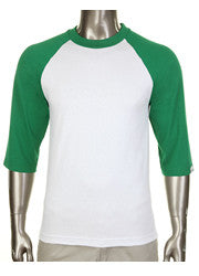 Pro Club Baseball White/Green T-Shirt