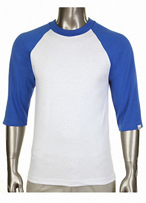 Pro Club Baseball White/Royal Blue T-Shirt