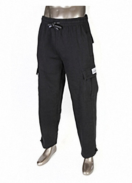 Pro Club HEAVYWEIGHT Fleece Cargo Pants Black
