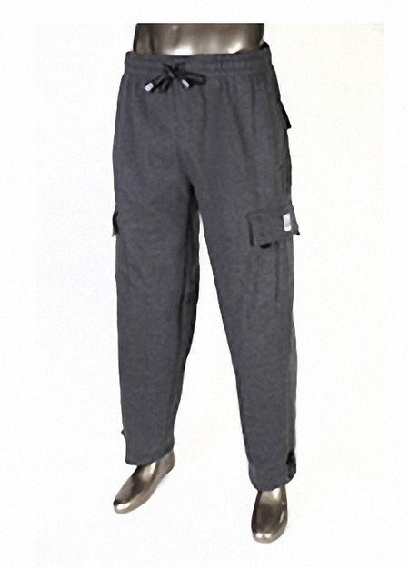 Pro Club Heavyweight Fleece Cargo Navy Blue Pants