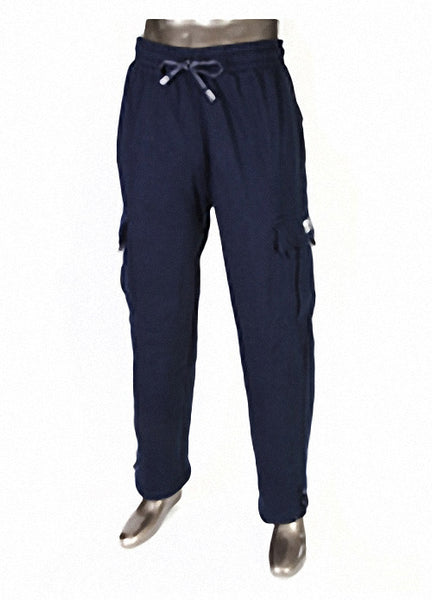 Pro Club HEAVYWEIGHT Fleece Cargo Pants Navy Blue