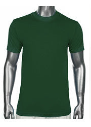 PRO CLUB Short Sleeve  HEAVYWEIGHT Premium T Shirt Forest Green