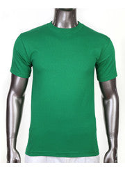 PRO CLUB Short Sleeve  HEAVYWEIGHT Premium T Shirt Kelly Green