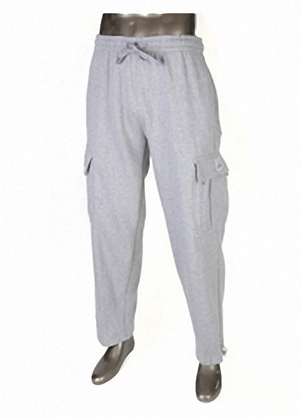 Pro Club HEAVYWEIGHT Fleece Cargo Pants Gray