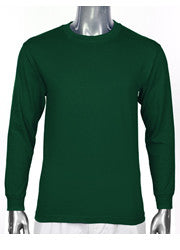 Pro Club HEAVYWEIGHT LONG SLEEVE T Shirt Forest Green