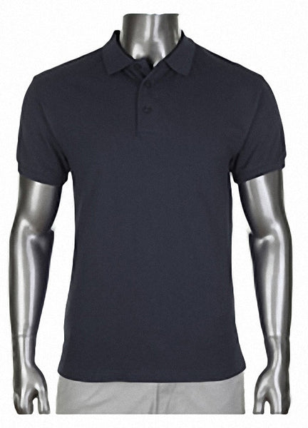 Pro Club Pique Polo Collar BLACK Shirt