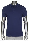 Pro Club Pique Polo Collar Navy Blue Shirt
